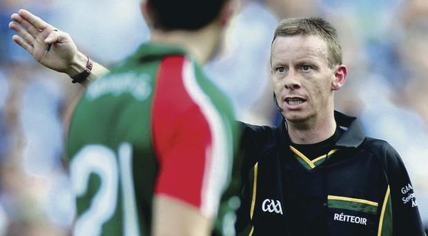 In focus: Joe McQuillan will take charge of the All-Ireland final between Dublin and Mayo