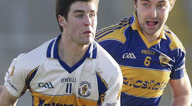 Family affair: Thomas Canavan is showing the promise that made his uncle Peter a GAA legend