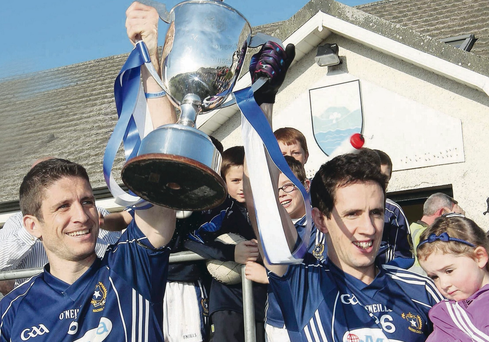 Silver lining: St Galls captain Sean Kelly and his teammate Mark Blake want more glory