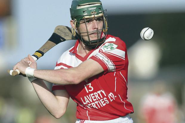 Star man: Benny McCarry produced a man of the match performance for Loughgiel
