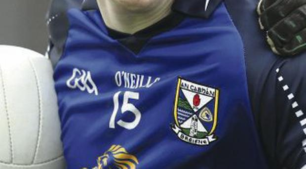 Driving force: County man Niall McDermott on scoresheet