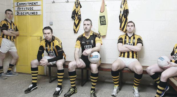 Paul Hughes, Oisin McConville, Paul Hearty, David McKenna and Michael McNamee are star names for Crossmaglen