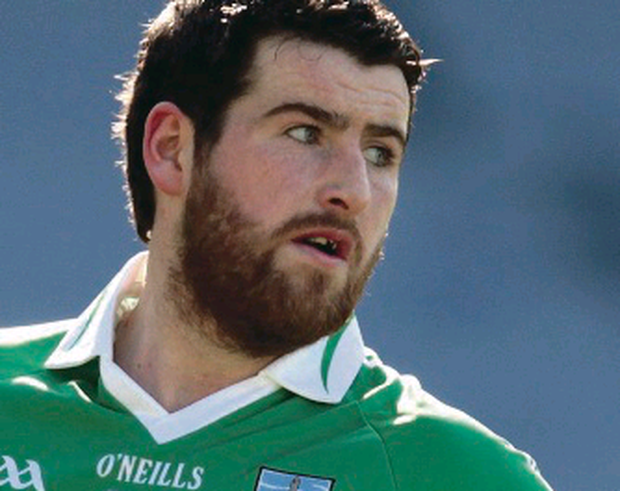 Seamus Quigley shone for Roslea Shamrocks
