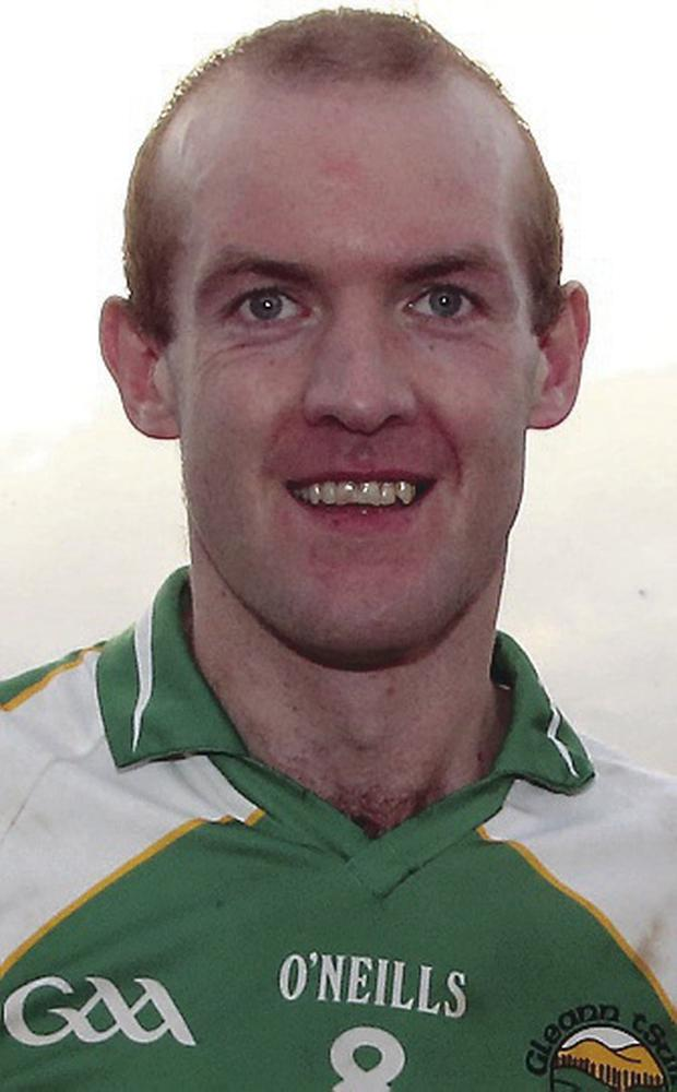 Club joy: Neil Gallagher led his side to the Donegal title