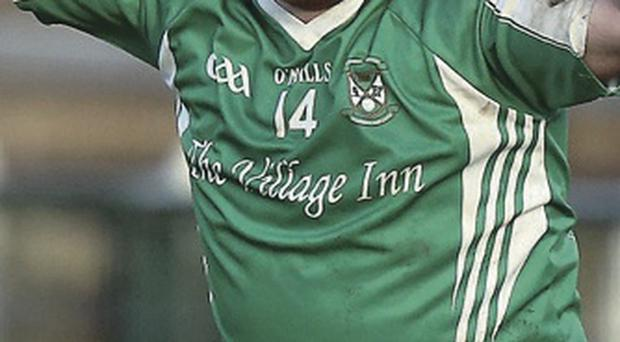 Quiet game: Seamus Quigley was curtailed by Glenswilly