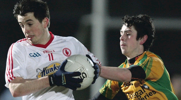 Tyrone's Ronan O'Neill is just one of the county players UUJ can call upon for the McKenna Cup campaign