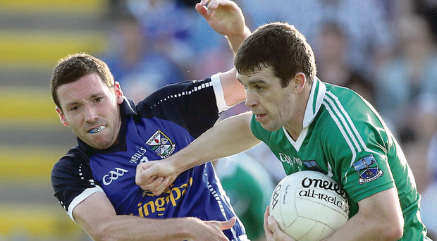 Fermanagh's Barry Owens (right) could take part in the Connacht Championship if proposals are passed