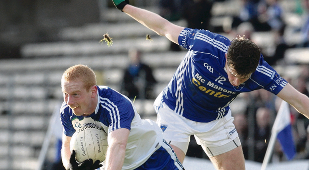 Conor Nevin has been inspirational in Ballinderry's bid for All-Ireland success