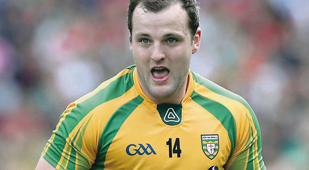 Michael Murphy is keen to make up for Donegal's poor form throughout 2013