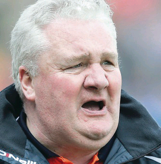 Armagh manager Paul Grimley