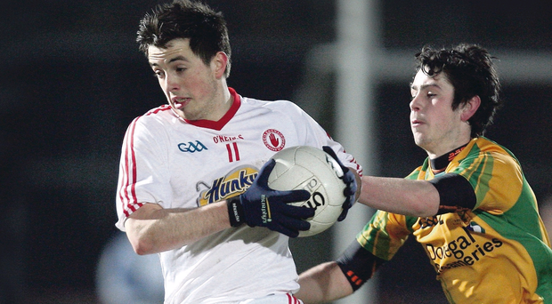 Ronan O'Neill suffered a career setback with a ligament injury in 2012