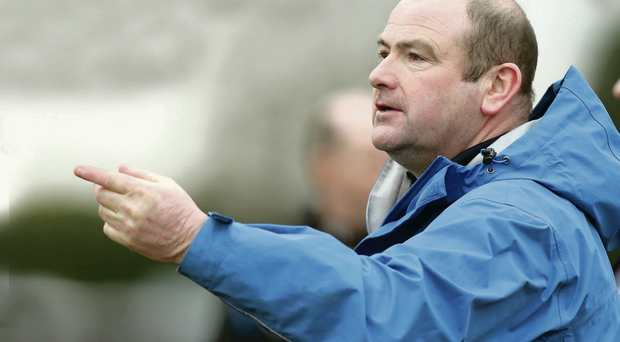 To the point: Conleith Gilligan is a fan of Martin McKinless' direct approach to coaching