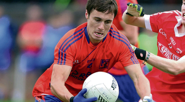 Family fortunes: Ardboe ace Shay McGuigan hopes to win honours with Tyrone