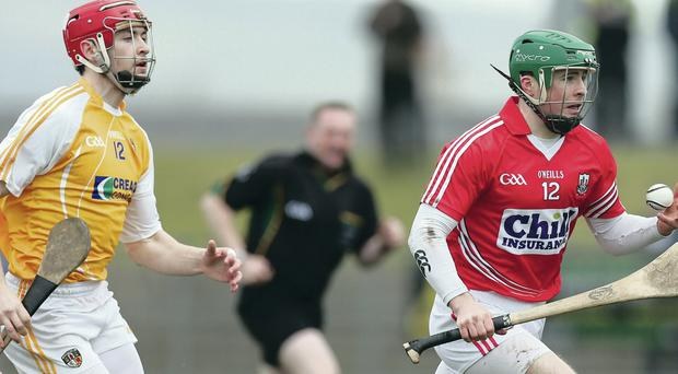 Antrim have shown definite improvement but still have some way to go to catch up with the likes of Cork
