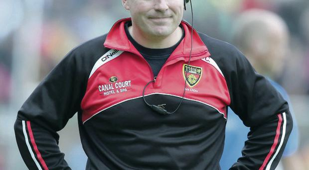 Down boss James McCartan is an advocate of attack