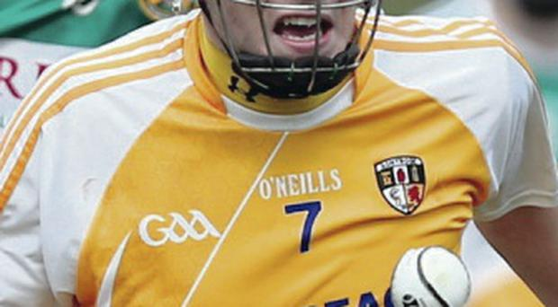 Know score: Paul Shiels has been Antrim's main threat