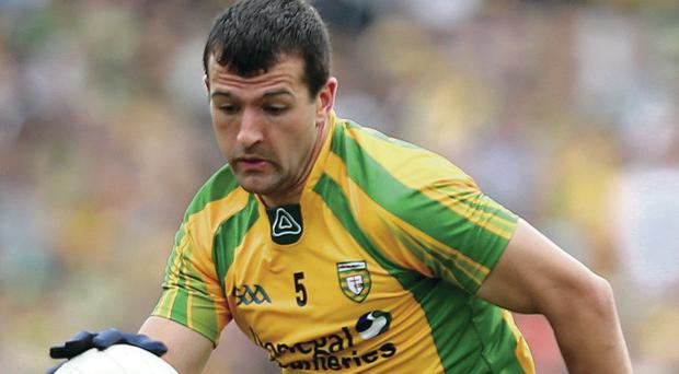 Frank McGlynn brings plenty of experience to the Donegal side