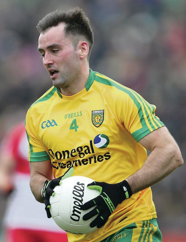 Donegal's Karl Lacey