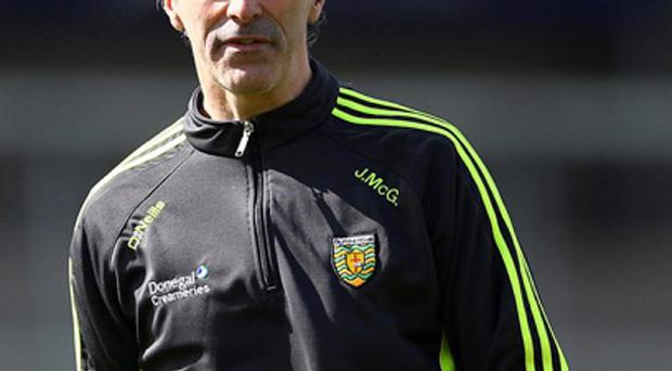Jim McGuinness 6/4/2014...Allianz Football League Division 2, Athletic Grounds, Armagh 6/4/2014 Armagh vs Donegal Donegal manager Jim McGuinness Mandatory Credit ©INPHO/Presseye/William Cherry