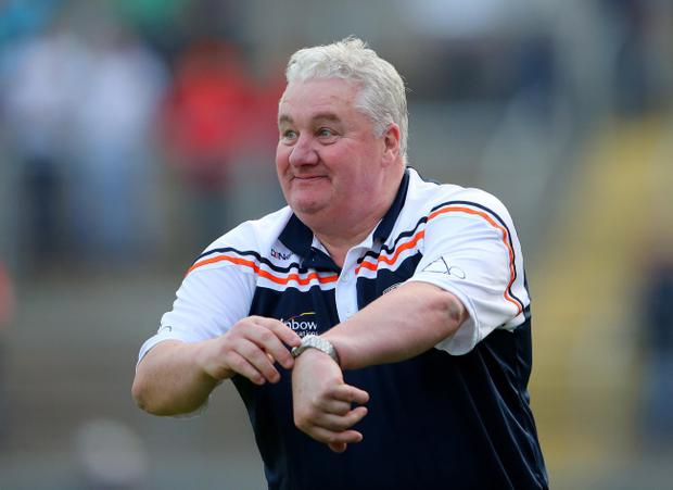 Tough contest: Paul Grimley is expecting a real battle when Armagh face Roscommon