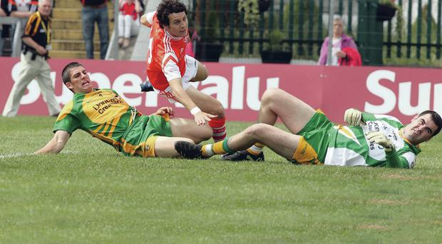 Game changer: Jamie Clarke's strike for Armagh against Donegal back in 2010 had far-reaching consequences