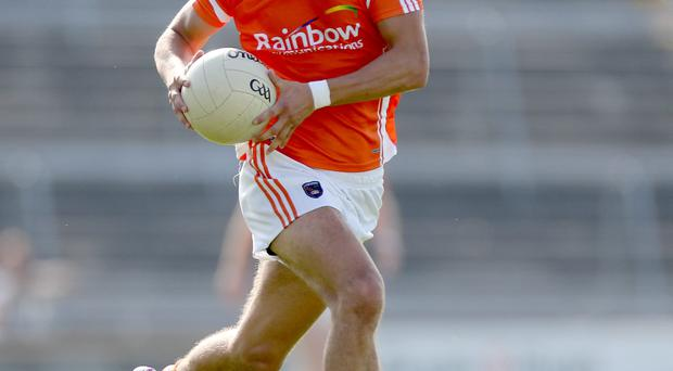 Armagh's Stefan Campbell