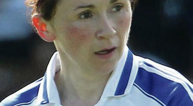 Get in: Niamh Kindlon was on target for Monaghan Ladies