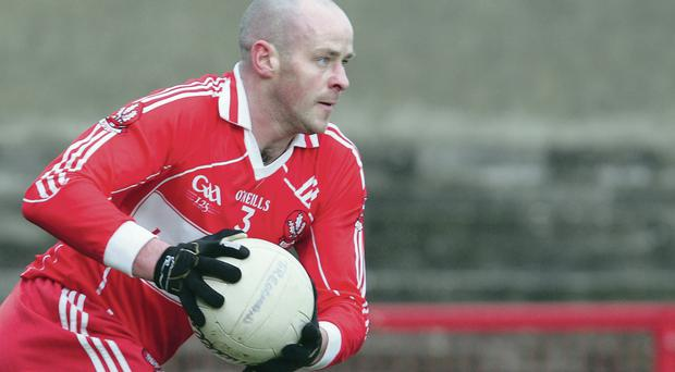 Collapsed: Kevin McCloy needed treatment while playing on Wednesday