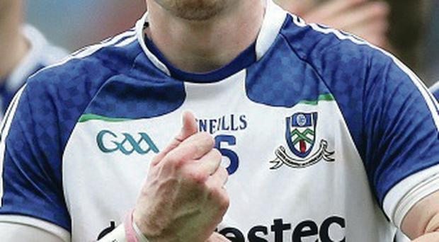 In front: Monaghan ace Conor McManus is Ulster's top scorer