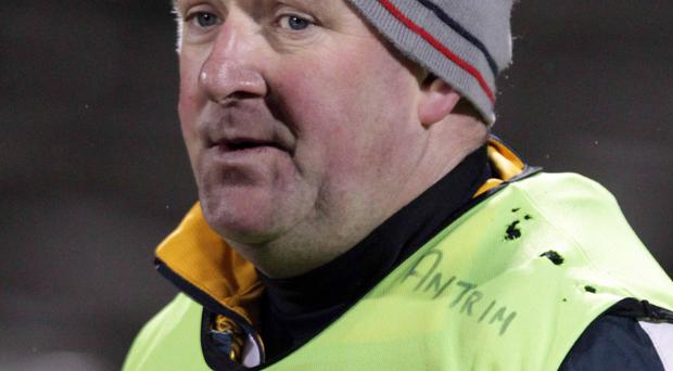 Saffron quest: Frank Fitzsimons' main aim with Antrim will be promotion from NFL Division Four