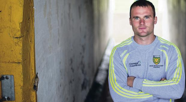 Meaning business: Neil McGee admits Donegal will have to be sharp all over the field to defeat Kerry in the All-Ireland final