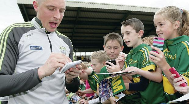 Rejuvenated: Kieran Donaghy is once again a man to watch as he goes for a fourth All-Ireland title with Kerry