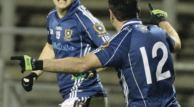 Shooting star: St Gall's C J McGourty underlined his class in helping St Gall's win the Kilmacud Crokes All-Ireland Sevens title