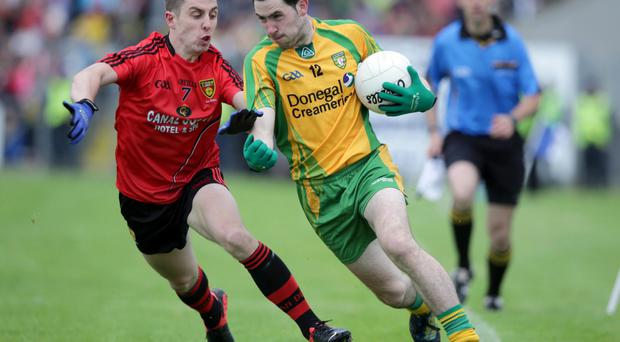 Main man: Ryan Boyle played a key role for St Peter's