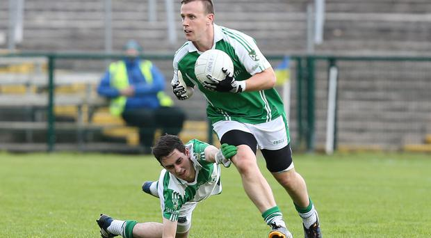 Glory bid: Roslea's Peter Lynch is in hunt for Ulster title