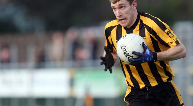 Clear aim: Conall Dunne wants to lead St Eunan's to the final