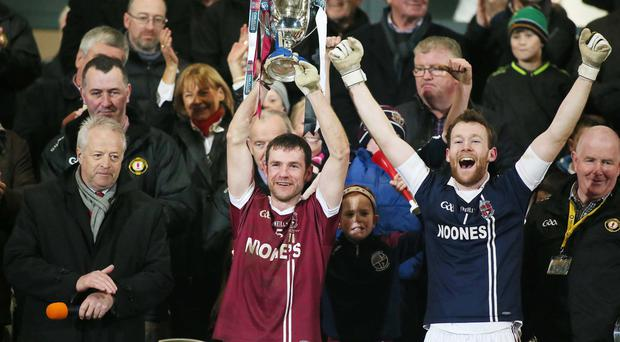 Derry's Slaughtneil, were big financial winners with a pay-out of £11,481