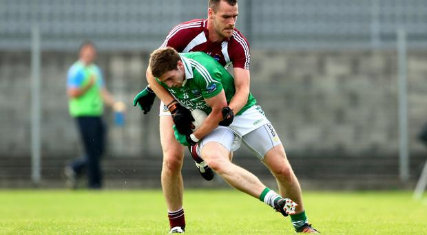 Main man: Eion Donnelly is nearing a return after underdoing surgery on a ruptured tendon in his thumb