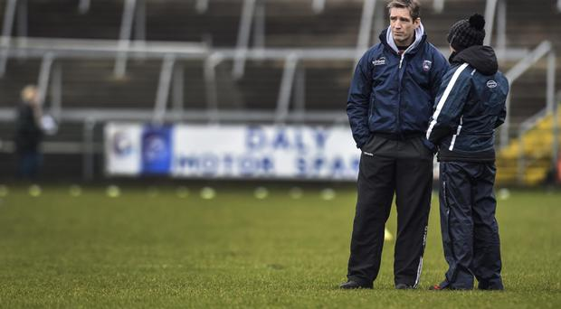 Hitting out: Kieran McGeeney wants clear tackling rules