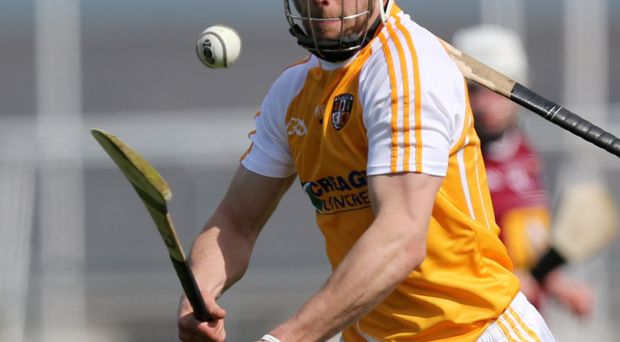 Big push: Neil McManus has called on Antrim to step up