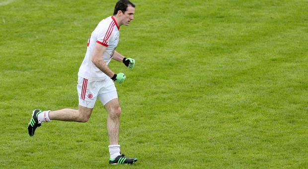 Tyrone's Justin McMahon has shaken off the injuries that have plagued him in recent seasons