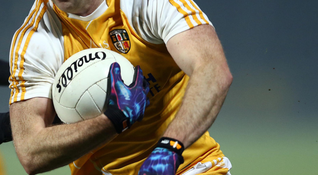 Hitting the target: Michael Pollock scored for Antrim