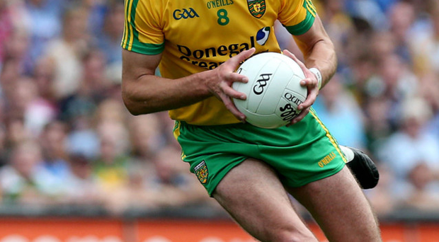 Big influence: Neil Gallagher says Donegal adopted Tyrone's winning mindset