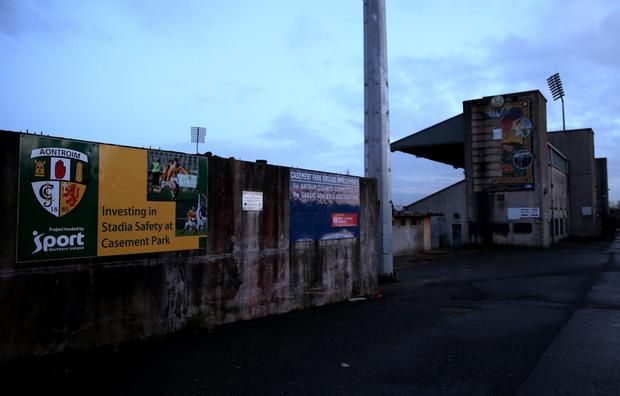 Casement upgrade: A new planning application for the proposed 38.000 all-seater stadium will be submitted