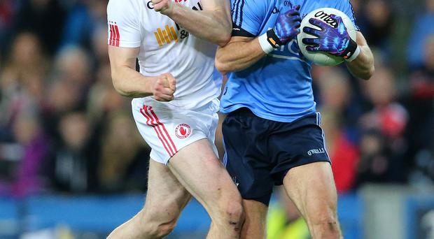 Injury woe: Sean Cavanagh has an ongoing knee problem