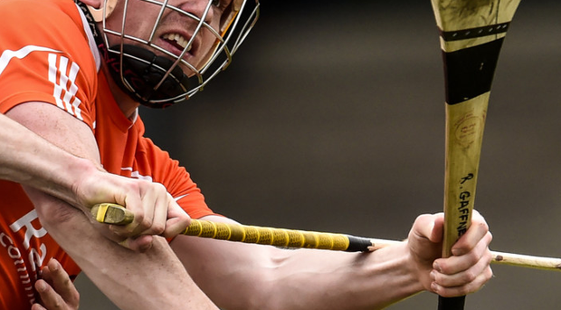 Point made: Armagh's Ryan Gaffney is in form