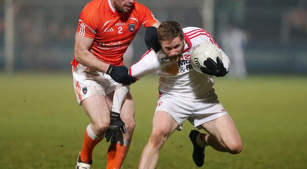 Illustrious past: Ciaran McKeever tasted success in his earlier years with Armagh and wants to repeat the feeling PRESSEYE