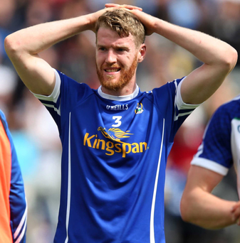 Missing out: Rory Dunne will be a big loss for Cavan