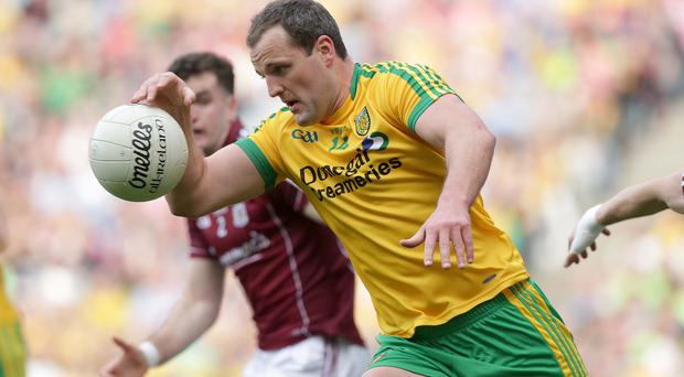 Wealth of options: Michael Murphy has the ability to link defence and attack as well as knock over points from distance