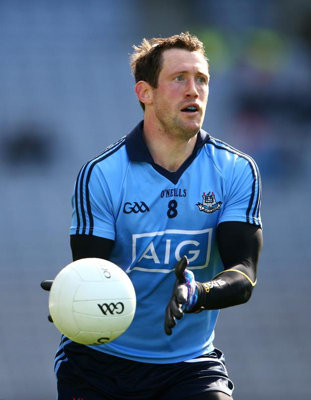 Special day: Denis Bastick won the Sam Maguire in 2013